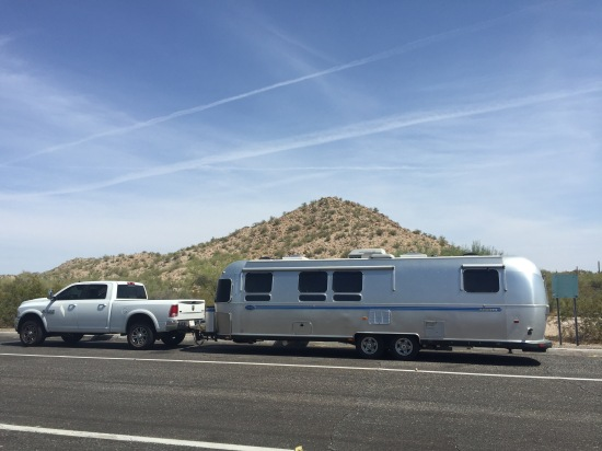 Passing through Arizona, July 2015
