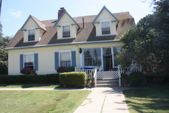 The Wizard Of Oz house on Star Park Circle in Coronado, a historical residence of L. Frank Baum.