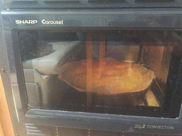 A loaf of savory mushroom-sage pompe a l'huile. Comfort bread.