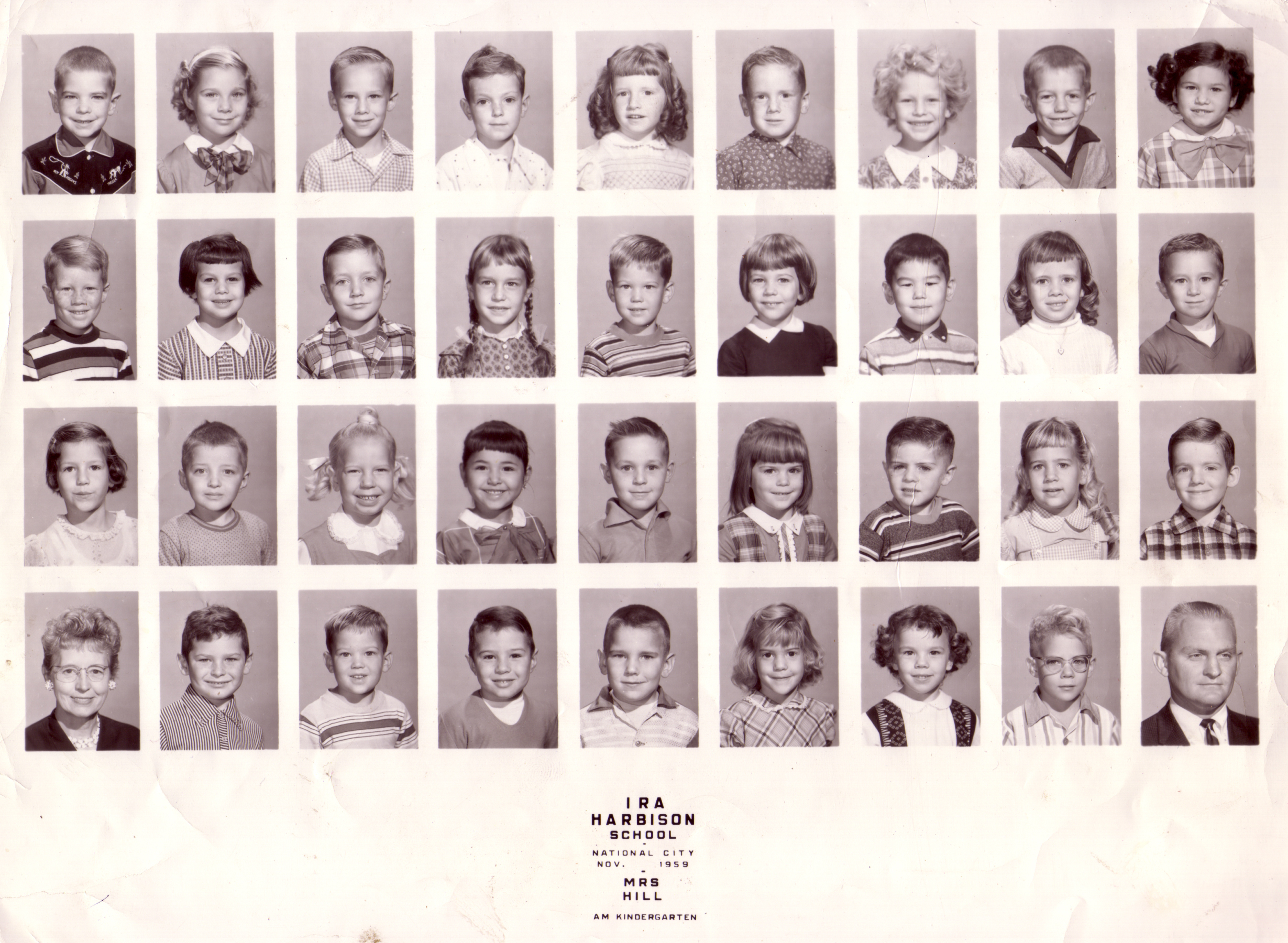 Kindergarden class photo