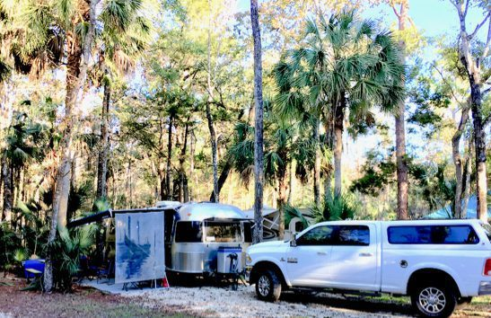 Our Chassahowitzka River Campsite
